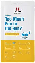 Düfte, Parfümerie und Kosmetik Beruhigende Tuchmaske für das Gesicht - Leaders Daily Wonders Too Much Fun In The Sun? Soothing & Calming Mask