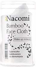 Düfte, Parfümerie und Kosmetik Bambustuch zum Gesicht- und Augen-Make-up-Entfernen mit OCM-Methode (Oil Cleansing Method) für alle Hauttypen - Nacomi Bamboo Face Cloth