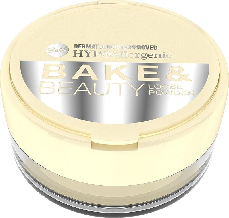 Loser Gesichtspuder - Bell HypoAllergenic Bake & Beauty Loose Powder