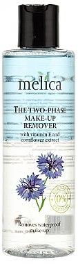 Make-up Entferner mit Vitamin E und Kornblumenextrakt - Melica Organic The Two Phase Make-Up Remover