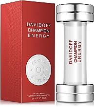 Düfte, Parfümerie und Kosmetik Davidoff Champion Energy - Eau de Toilette