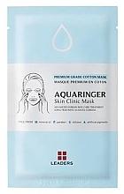 Düfte, Parfümerie und Kosmetik Intensiv feuchtigkeitsspendende Tuchmaske für das Gesicht - Leaders Aquaringer Skin Clinic Mask