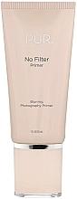 Düfte, Parfümerie und Kosmetik Gesichtsprimer - Pur No Filter Blurring Photography Primer