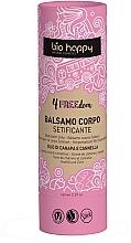 Düfte, Parfümerie und Kosmetik Straffender Körperbalsam mit Hanföl und Zimt - Bio Happy 4FREEdom Silky Body Balm