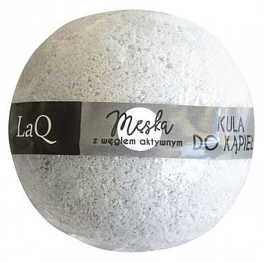 Badebombe mit Aktivkohle für Männer - LaQ Bath Bomb — Bild N1