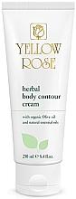 Düfte, Parfümerie und Kosmetik Anti-Cellulite Körpercreme mit Kräutern und Bio Olivenöl - Yellow Rose Herbal Body Contour Cream