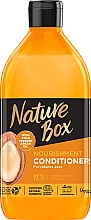 Düfte, Parfümerie und Kosmetik Intensiv pflegende und nährende Haarspülung mit kaltgepresstem Arganöl - Nature Box Nourishment Vegan Conditioner With Cold Pressed Argan Oil