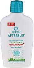 Düfte, Parfümerie und Kosmetik Reparierende After Sun Milch mit Aloe Vera - Ecran Aftersun Serum Reparador Antimanchas