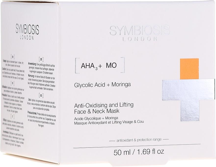 Antioxidative Gesichts- und Halsmaske mit Lifting-Effekt - Symbiosis London Anti-oxidising And Lifting Face & Neck Mask