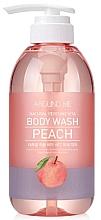 Düfte, Parfümerie und Kosmetik Duschgel Pfirsich - Welcos Around Me Peach Body Wash