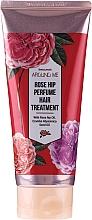 Düfte, Parfümerie und Kosmetik Regenerierender Conditioner mit Hagebutte für stapaziertes Haar - Welcos Rose Hip Perfume Hair Treatment