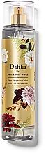 Düfte, Parfümerie und Kosmetik Bath And Body Works Dahlia - Parfümierter Körpernebel mit ätherischen Ölen