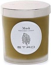Düfte, Parfümerie und Kosmetik Etro Musk Candle - Duftkerze Moschus