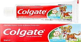 Düfte, Parfümerie und Kosmetik Kinderzahnpasta 2-5 Jahren - Colgate Toddler Bubble Fruit Anticavity Toothpaste For 2-5 Years Kids