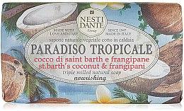 Düfte, Parfümerie und Kosmetik Natürliche Seife Kokosnuss & Plumeria - Nesti Dante Paradiso Tropicale St. Barths Coconut & Frangipane Soap