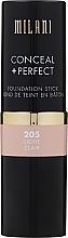 Düfte, Parfümerie und Kosmetik Concealer & Foundation in Stickform - Milani Conceal + Perfect Foundation Stick