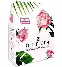 Düfte, Parfümerie und Kosmetik Gesichts- und Körperpflegeset - Orientana (Körperöl 100g + Gesichtstonikum 100ml + Augenmaske 1 St.)