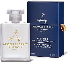 Düfte, Parfümerie und Kosmetik Beruhigendes Bade- und Duschöl mit Lavendel und Pfefferminze - Aromatherapy Associates Support Lavender & Peppermint Bath & Shower Oil