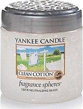 Düfte, Parfümerie und Kosmetik Fragrance-Sphere Clean Cotton - Yankee Candle Clean Cotton Fragrance Spheres