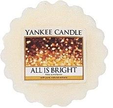 Düfte, Parfümerie und Kosmetik Tart-Duftwachs All Is Bright - Yankee Candle All Is Bright Tarts Wax Melts