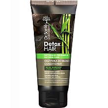 Düfte, Parfümerie und Kosmetik Intensiv regenerierende und entgiftende Haarspülung für erschöpftes Haar mit Bambuskohle - Dr. Sante Detox Hair