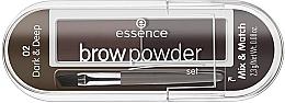 Düfte, Parfümerie und Kosmetik Augenbrauen-Set - Essence Eyebrow Stylist Set