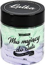 Düfte, Parfümerie und Kosmetik Reinigende Körpermousse mit Kokos- und Ananasduft - Lalka