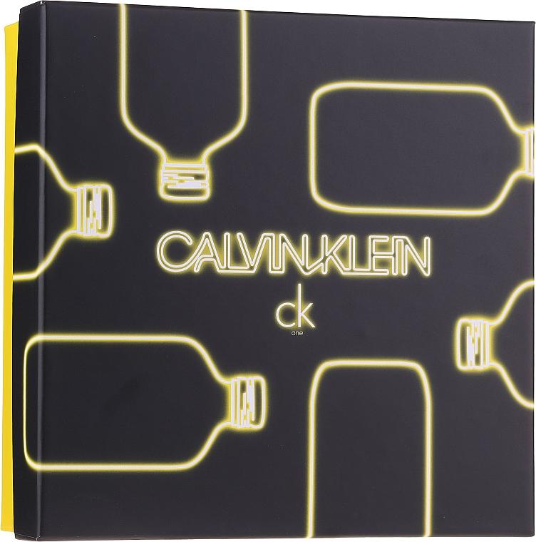 Calvin Klein CK One - Duftset (Eau de Toilette 100ml + Duschgel 100ml)