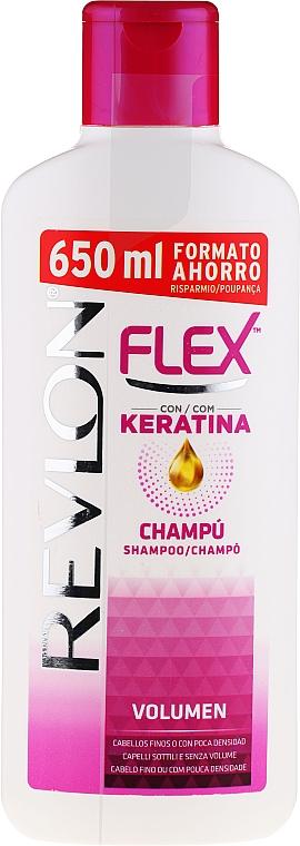 Volumen Shampoo mit Keratin - Revlon Flex Volumising Shampoo