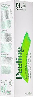 Aufbauendes Peeling gegen Haarverlust mit Fruchtsäuren und Basilikum-Extrakt - _Element Basil Anti Hair Loss Cleansing Scrub