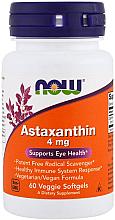 Düfte, Parfümerie und Kosmetik Nahrungsergänzungsmittel Astaxanthin 4 mg zur Stärkung der Augengesundheit 60 Weichkapseln - Now Foods Astaxanthin