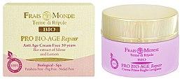 Düfte, Parfümerie und Kosmetik Feuchtigkeitsspendende und energetisierende Tagesgesichtscreme 30+ - Frais Monde Pro Bio-Age Repair Anti Age Face Cream 30 Years