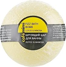 Düfte, Parfümerie und Kosmetik Badebombe Lotus & Mimose - Cafe Mimi Bubble Ball Bath