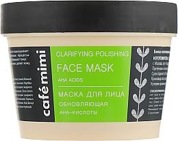 Düfte, Parfümerie und Kosmetik Erneuernde Gesichtsmaske mit AHA-Säuren - Cafe Mimi Face Mask
