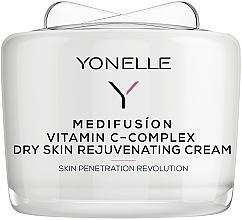 Düfte, Parfümerie und Kosmetik Verjüngende Gesichtscreme mit Vitamin C - Yonelle Medifusion Vitamin C-Complex Dry Skin Rejuvenating Cream