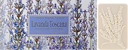 Düfte, Parfümerie und Kosmetik Naturseifen-Geschenkset - Saponificio Artigianale Fiorentino Lavender Toscana (3x125g)