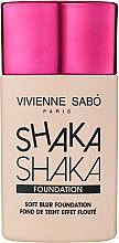 Düfte, Parfümerie und Kosmetik Foundation - Vivienne Sabo Natural Cover Shaka Shaka Foundation