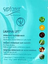 Düfte, Parfümerie und Kosmetik Feuchtigkeitsspendende Tuchmaske mit Algen und Orangenwasser - Repechage Lamina Lift Mask