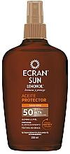 Düfte, Parfümerie und Kosmetik Sonnenschutzöl-Spray für den Körper SPF 50 - Ecran Sun Lemonoil Oil Spray SPF50