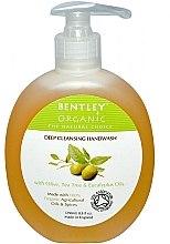 Düfte, Parfümerie und Kosmetik Tiefenreinigende Flüssigseife mit Olive, Teebaum und Eukalyptus - Bentley Organic Body Care Deep Cleansing Handwash