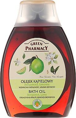 Badeöl mit Bergamotte und Limette - Green Pharmacy