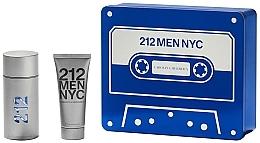 Düfte, Parfümerie und Kosmetik Carolina Herrera 212 Men NYC - Duftset (Eau de Toilette 100ml + Duschgel 100ml)
