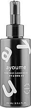 Düfte, Parfümerie und Kosmetik Reinigungsöl mit Holzkohlepulver - Ayoume Pore Deep Cleansing Oil
