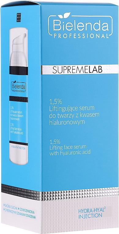Lifting-Gesichtsserum mit 1,5% Hyaluronsäure - Bielenda Professional SupremeLab Hydra-Hyal2