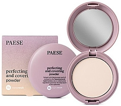 Düfte, Parfümerie und Kosmetik Mattierender Kompaktpuder - Paese Perfecting & Covering Nanorevit Powder