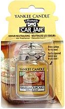 Düfte, Parfümerie und Kosmetik Auto-Lufterfrischer Vanilla Cupcake - Yankee Candle Vanilla Cupcake Car Jar Ultimate