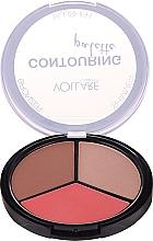 Düfte, Parfümerie und Kosmetik Konturierpalette - Vollare Cosmetics Contouring Palette Bronzer, Shimmer, Blusher