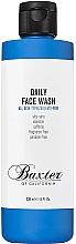 Düfte, Parfümerie und Kosmetik Gesichtswaschgel für die tägliche Anwendung mit Aloe Vera, Allantoin und Koffein - Baxter of California Daily Face Wash