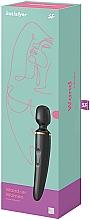 Düfte, Parfümerie und Kosmetik Massage-Vibrator für Frauen schwarz - Satisfyer Wand-er Woman