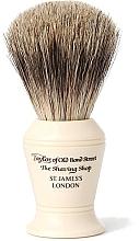 Düfte, Parfümerie und Kosmetik Rasierpinsel P375 - Taylor of Old Bond Street Shaving Brush Pure Badger size M